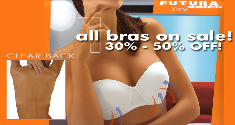 backless clear back bras