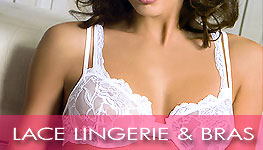 lace lingerie and bras