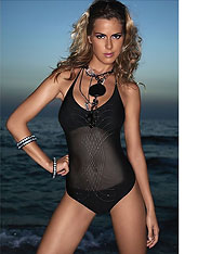 Designer One-piece swimsuit - Amarea style -One-piece swimsuits