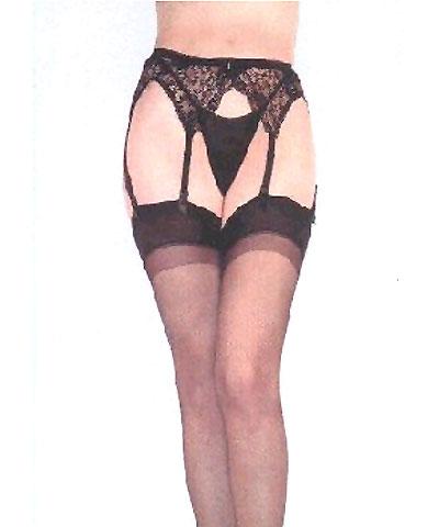 Garter belt, lace - Donna B.C.