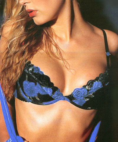 Sexy push up bras - Night Blue art.8280