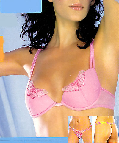 Push up bra and string - PRIMA VISIONE - Butterfly 3134
