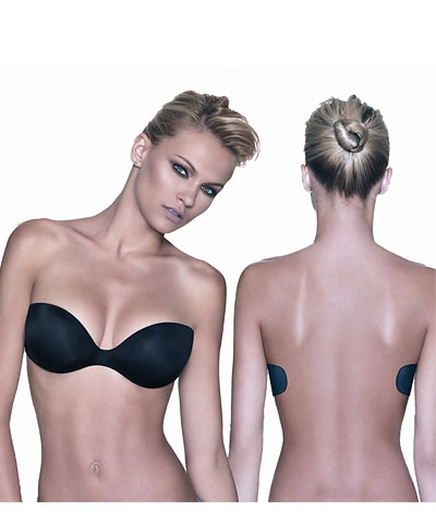 Adhesive backless strapless graduated bra: Papillon Enigma PA1010