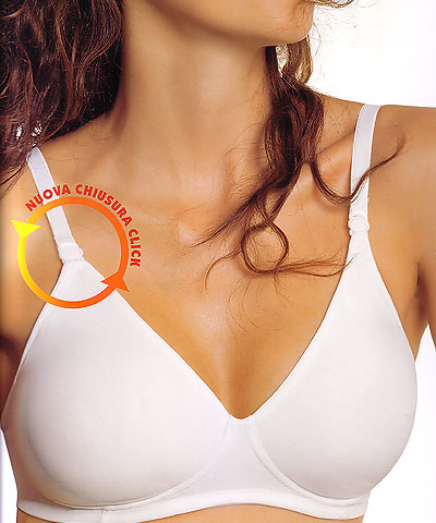 Clear strap NO wire seamless bras - Papillon P2920