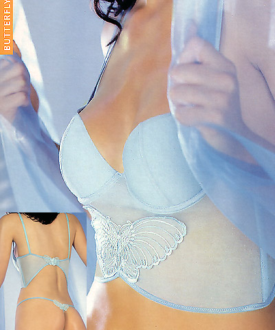 Bustier and string - PRIMA VISIONE - Butterfly art.3139