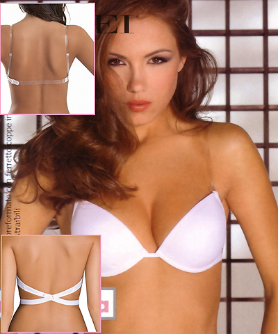 2 ways: Clear back and Low back bra - SIeLEI 1586-90