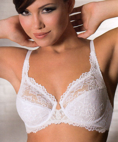 underwired French lace bra  - Sielei art.946