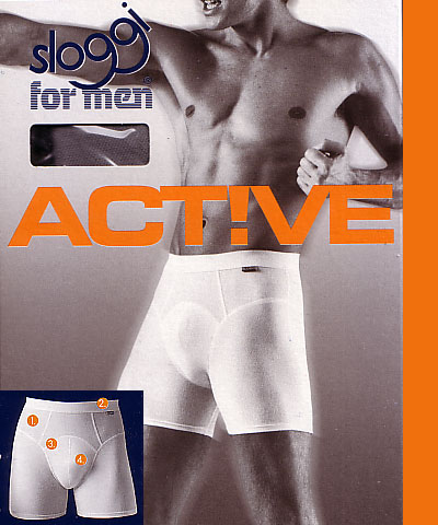 Sloggi men's boxers Active Long  - Sloggi Active Long