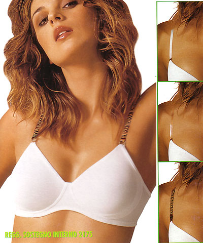 No wire clear straps bras - Papillon art.P2175