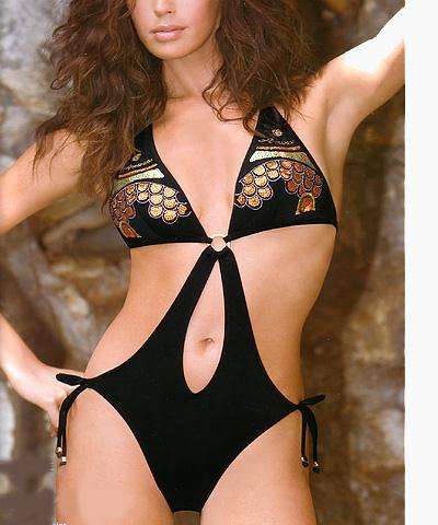 Monokini bathing suit - Amarea style 264