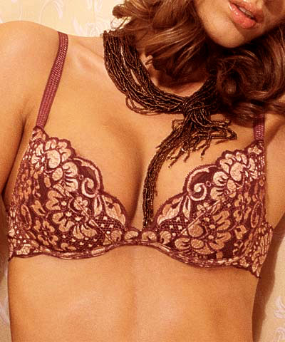 Push up bras with precious lace - Oro art.8258