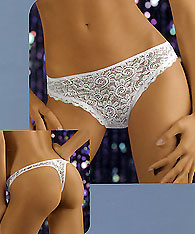 Lace thong - FIORDALISO