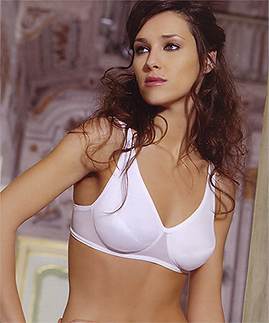 Wireless bra for fuller busts -  -