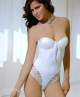 Elegant bridal lingerie