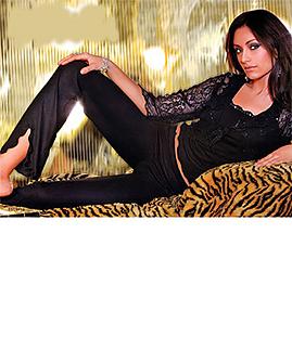 Women's sexy lace pajama