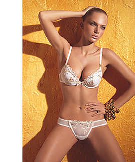 Lingerie set: bra and thong by Laura Biagiotti