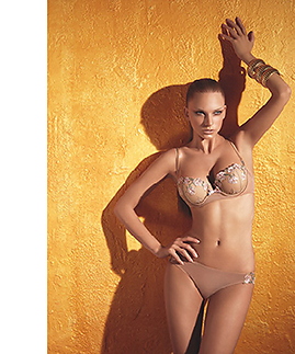Lingerie set: bra and braziliana thong by Laura Biagiotti -  -