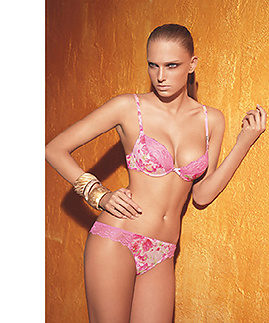 Lingerie set: bra and thong by Laura Biagiotti -  -