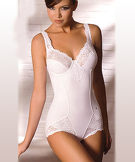 Lace body shaper
