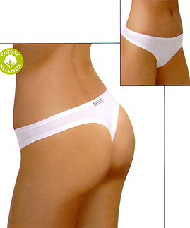 organic cotton thong -  -