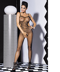 Erotic crotchless bodystocking  -  -