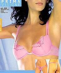 Push up bra and string - PRIMA VISIONE - Butterfly 3134 - Lace bras