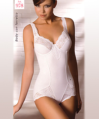 Lace body shaper  -  -