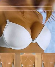 Clear strap bras with clear back - Futura Sogno - Strapless Bras and Backless Strapless Bras