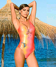 Women's  Sexy Swimsuits - one-piece swimsuit  - Amarea style 237 - Women's  Sexy Swimsuits