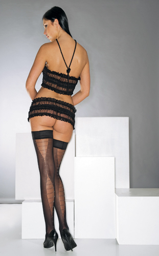 Stay-up Stockings - Cherir 657n