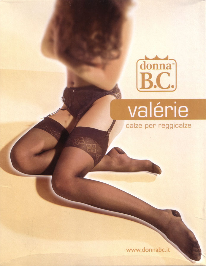 Stockings to wear with suspender belt  - Donna BC Valerie60
