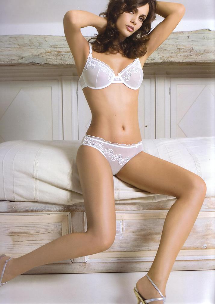 semi Sheer Lace bra - Charlotte