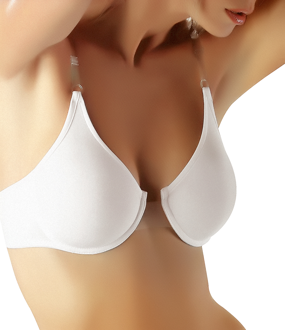 Clear center clear back clear straps bras - Futura Luana