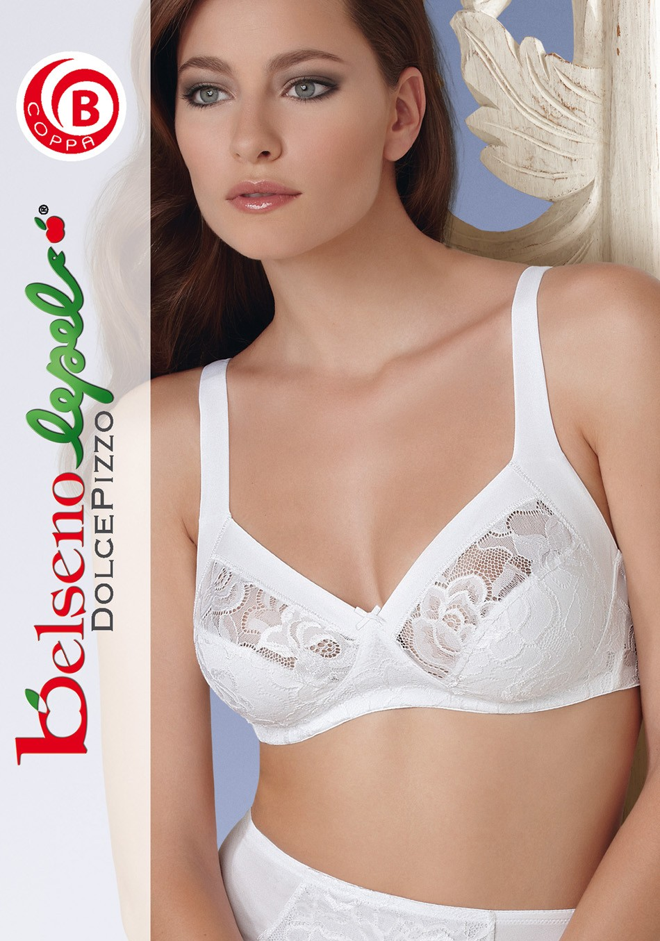Unwired stretch lace bra - Lepel Belseno art.230