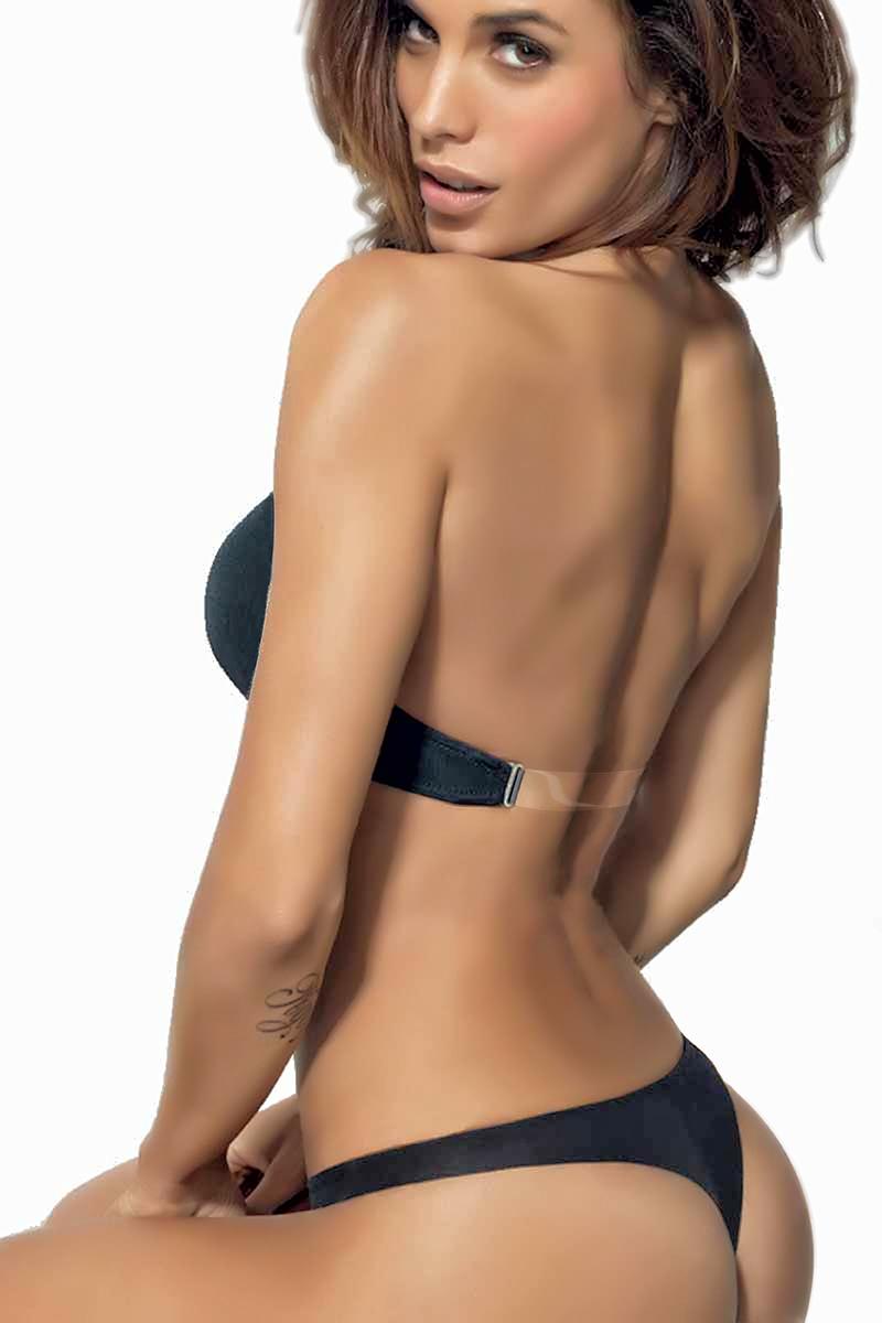 Clear back bra  - Lormar Susan