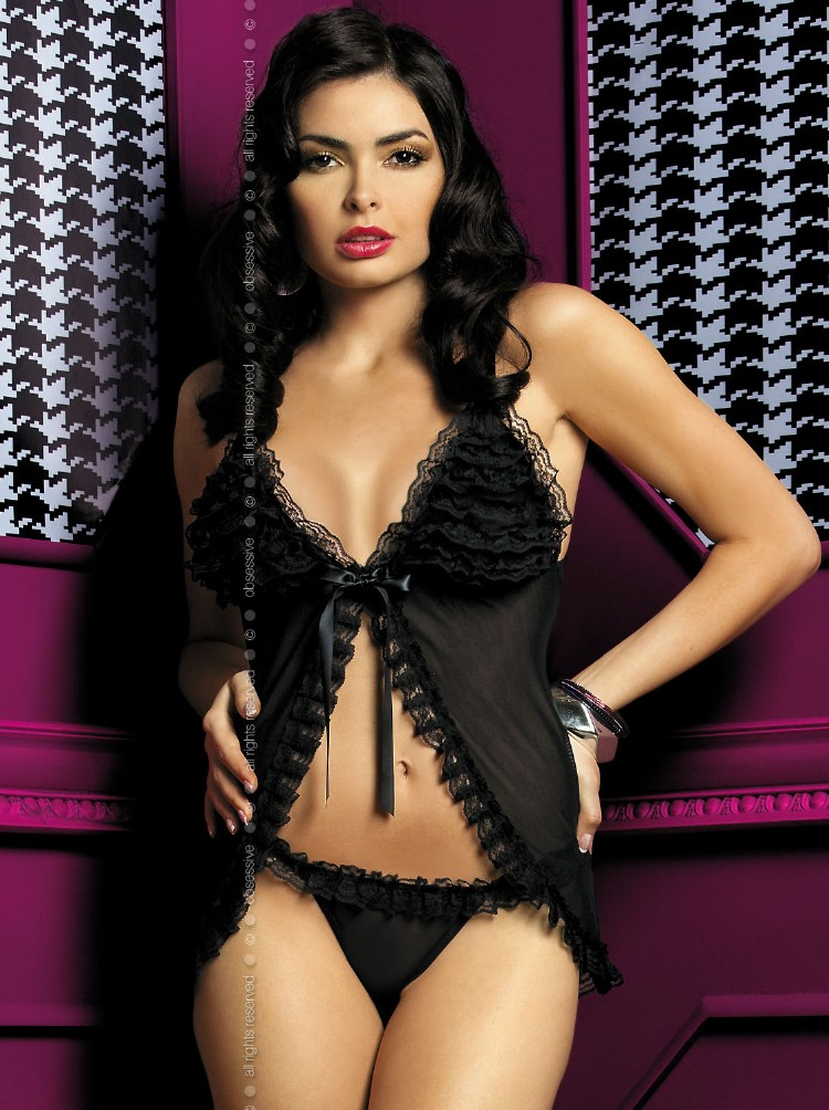 Cute black chemise  - Obsessive Madame Black