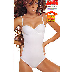 Convertible Strapless - Clear  Strap Bodysuits