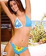 Blue bathing suit - Bikini Amarea ® style 198
