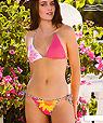 Pink rose bikini - Amarea style 199