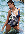 Wireless Light Push Up One-piece swimwear - Amarea 308