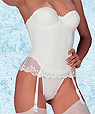 Bridal corset guepiere  - Donna style 8088