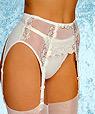Bridal garter belt - Donna a.8086 -