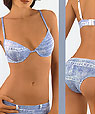 Push up bras and panties - Jeans a.CJEA10