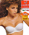 Strapless bras - convertible clear strap bras - Papillon P2923 -