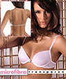 Clear straps padded push up bras with clear back strap - SIELEI art.16-66