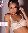 All-over-lace French cut bra - SIeLEI art 1672