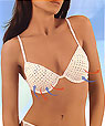 Push-Up perforated bras - mod. Tropical -