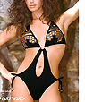 Women's designer swimwear - one-piece swimsuit  - Amarea style 264 -